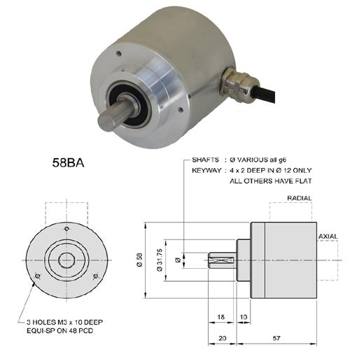 58BA Encoder