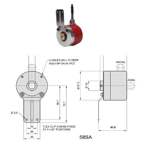 58WA Encoder